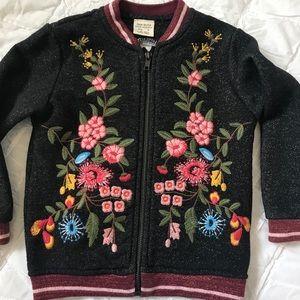 Zara Girls ZIP up sweat shirt/jacket
